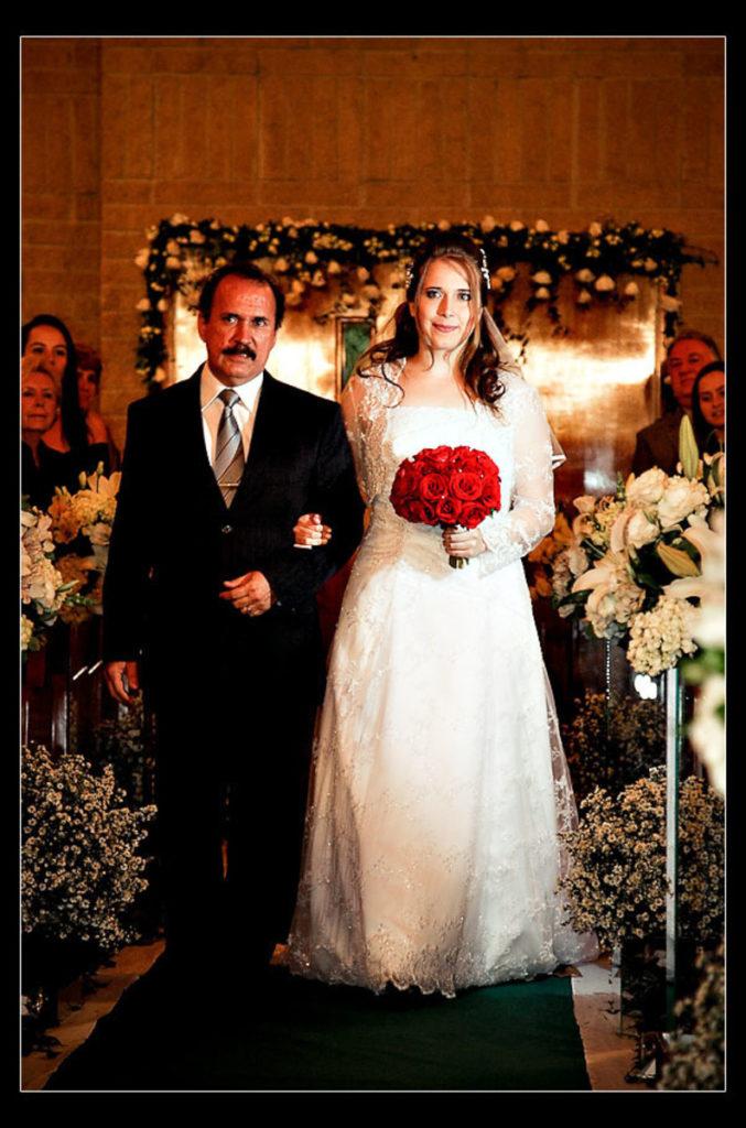 entrada noiva casamento riacho grande