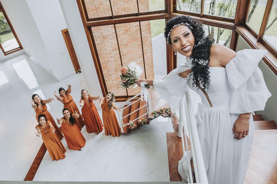 foto de noiva com madrinhas 12 - foto com madrinhas Ideia de fotos criativas de noiva com madrinhas!