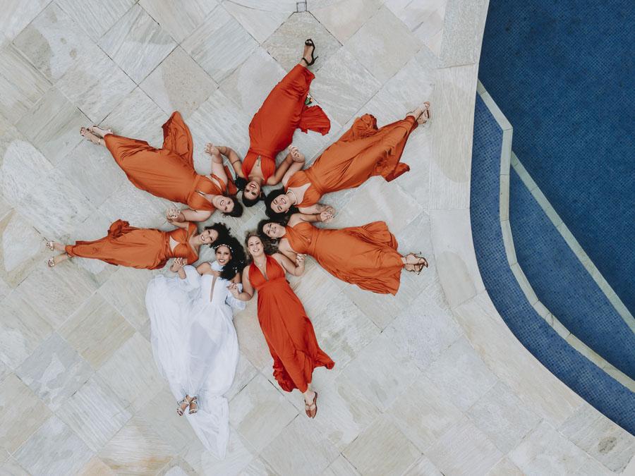 foto-de-noiva-com-madrinhas-drone-2