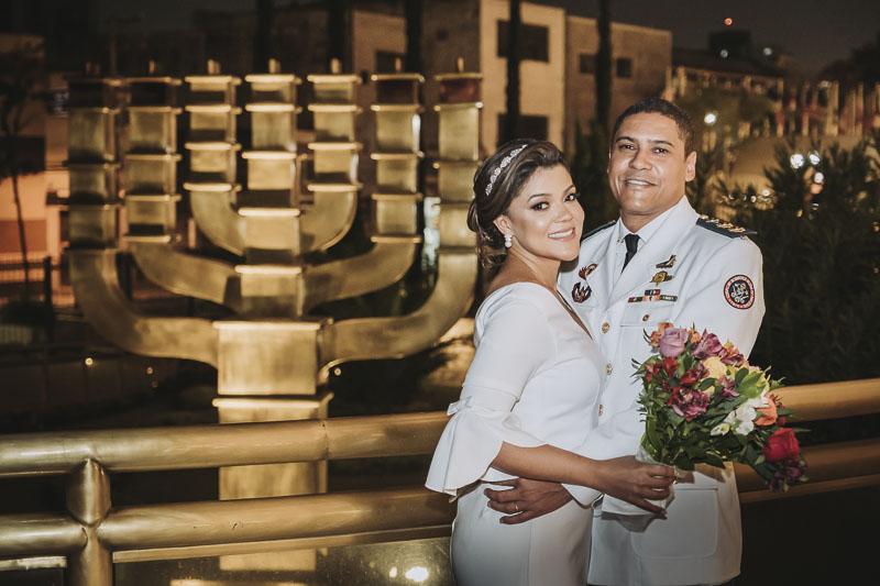 milca alexandre casamento 018 - casamento evangélico casamento no templo de salomão