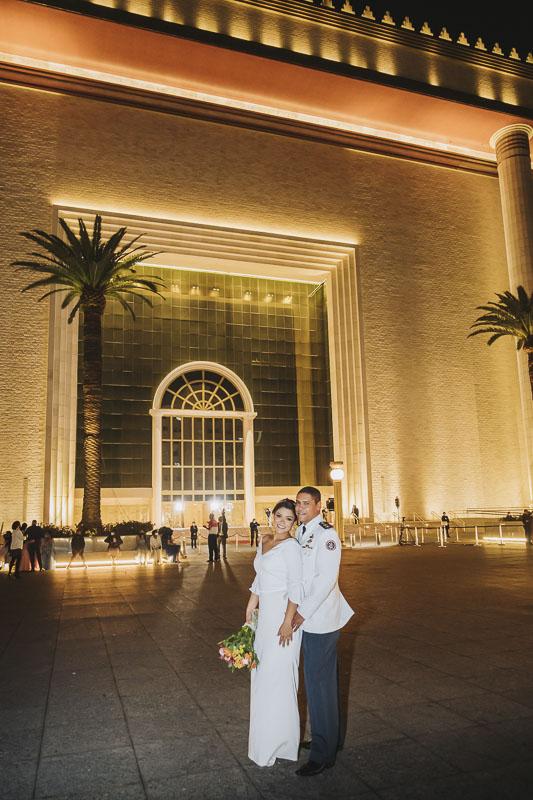 milca alexandre casamento 039 - casamento evangélico casamento no templo de salomão