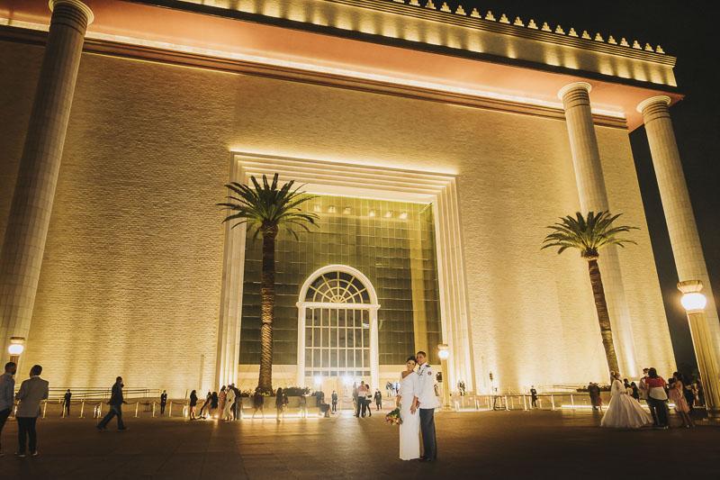 milca alexandre casamento 041 - casamento evangélico casamento no templo de salomão