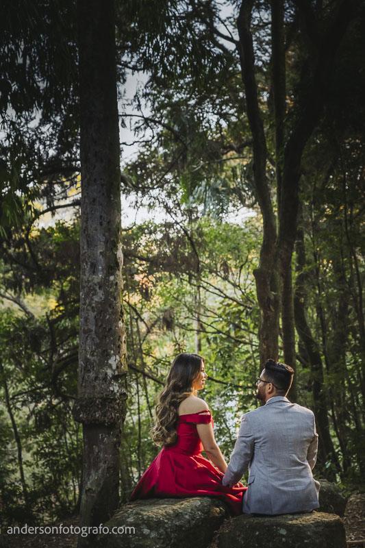 ensaio fotografico criativo casal horto florestal