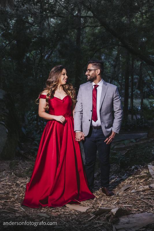 ensaio fotografico casal no horto