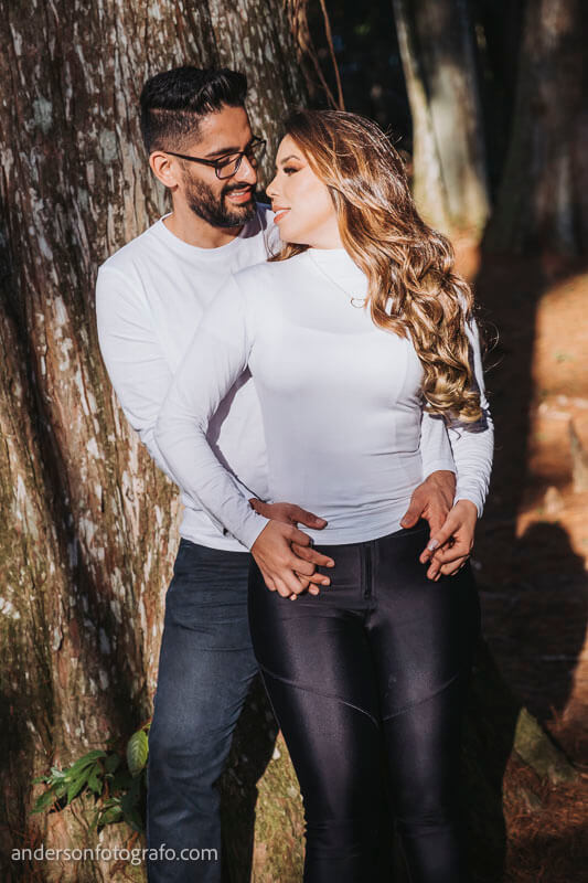 ensaio fotografico casal horto florestal